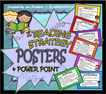 READING STRATEGY POSTERS & POWER POINT