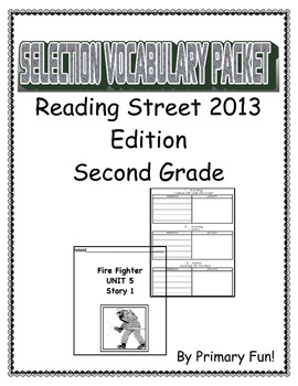 READING STREET (2013 EDITION) - UNIT 5 - SELECTION WORD PA