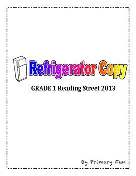 READING STREET (2013 Edition) - FIRST Grade - Refrigerator Copy