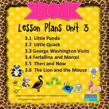 READING STREET KINDERGARTEN 2013 Common Core LESSON PLANS FOR UNIT 3 (3.1-3.6)