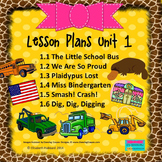 READING STREET KINDERGARTEN 2013 Common Core LESSON PLANS