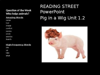 READING STREET PowerPoint Pig in a Wig Unit 1.2