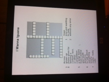CROSSWORD PUZZLES /READING STREET/ UNIT 2, 3rd Grade