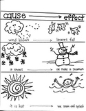 READING TARGET:  CAUSE AND EFFECT  for  FIRST GRADE ARTISTS