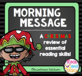 Reading Morning Work Spiraled Review: Christmas Edition
