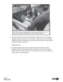 READING TEST PREP - Nonfiction Inference