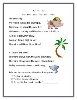READING TIME IS FUN WITH RHYMES #1
