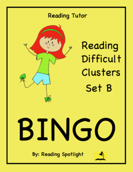 Reading Game: Reading Difficult Vowel and Consonant Clusters Set B (RT)