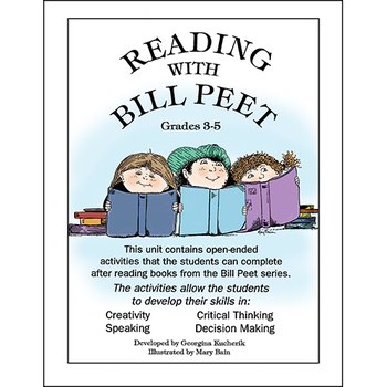 READING WITH BILL PEET (OPEN-ENDED CREATIVE ACT.) Gr. 3-5