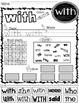 WONDERS Sight Word Printables