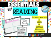 READING - mini lesson - STORY MAP organizer for GOOGLE CLA