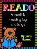 READO- Monthly Reading Logs