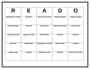 READO for Pleasure Reading
