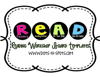 READ~Reading Workshop Board