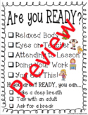 READY Checklist #spedgivesthanks