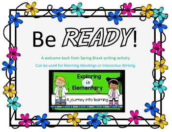 READY! Interactive Writing Activity