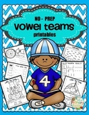 PRINTABLES { NO PREP } VOWEL TEAMS