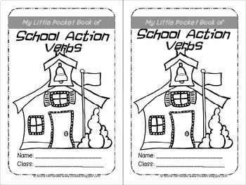 Verbs - Ready, Set, Go! School Action Verb Cards