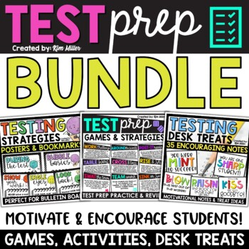 Test Taking Strategies & Games for the Classroom {Bundle}