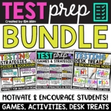 Test Prep Bundle: Strategies, Games, Posters & Desk Notes