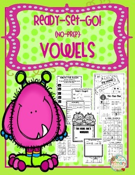 VOWELS {NO-PREP} PRINTABLES