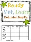 READY, SET, LEARN WEEKLY BEHAVIOR CHART