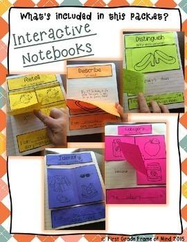 Academic Vocabulary Interactive INB Ready to GO set 1