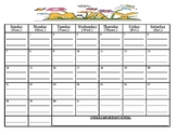 READY TO GO-May 2017 calendar (MUST print out/write assign
