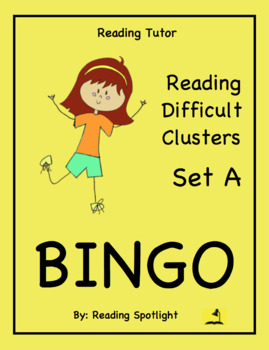 Reading Game: Reading Difficult Clusters Set A (Reading Tu