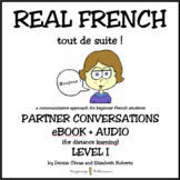 REAL FRENCH Level 1 Partner Conversations eBook + Audio fo