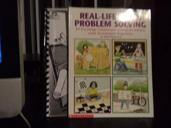 REAL-LIFE MATH PROBLEM SOLVING,MATH ON A TRIP (set of 2)