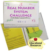 Real Number System Sorting CHALLENGE Activity