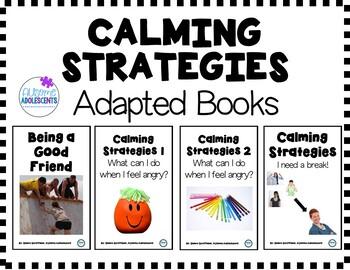 REAL PHOTO Calming Strategies Social Skills Unit (sped
