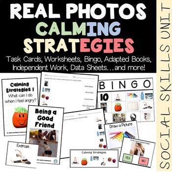 REAL PHOTO Calming Strategies Social Skills Unit | TpT