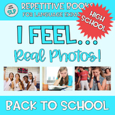 REAL PHOTOS Adapted Book I Feel Emotion Vocabulary TEENS Life Skills BACK SCHOOL