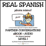 REAL SPANISH Level 1 eBook + Audio for Distance Learning