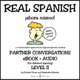 REAL SPANISH Level 2 eBook + Audio for Distance Learning