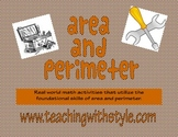 REAL WORLD: Area and Perimeter