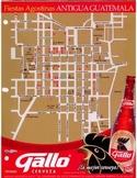 REALIA: Antigua, Guatemala Street Map for Giving Directions