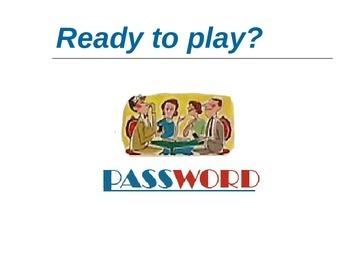 REALIDADES 1. 2A. PASSWORD GAME.