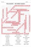 SPANISH TEXTBOOK REALIDADES 1 - 4B: quiz, puzzle, word sea