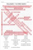 SPANISH TEXTBOOK REALIDADES 1 - 9A: quiz, puzzle, word sea