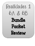 REALIDADES 1. CHAPTER 6A AND 6B. BUNDLE PACKETS.