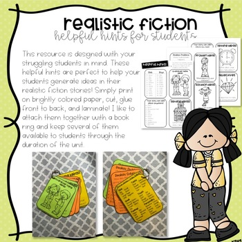 REALISTIC FICTION WRITING BUNDLE!