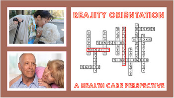 REALITY ORIENTAITON: A Health Care Perspective