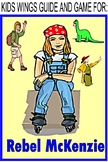 REBEL MCKENZIE by Candice Ransom, A girl focusing on success follows her dream!