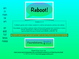 REBOOT Multi Syllable game with prefix suffix practice for