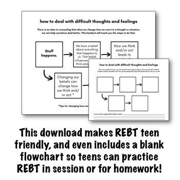 REBT for Teens Handouts