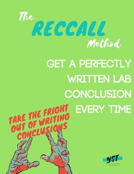 RECCALL: The Trick to Getting Students to Write Perfect Lab Conclusions