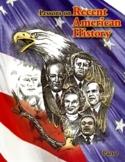 RECENT U.S. HISTORY CURRICULUM LESSONS 16-30/45 +Quizzes